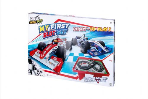 Maisto My First Slot Remote Control Car Set – Preassembled
